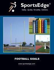 Standard Football Goals - SportsEdge