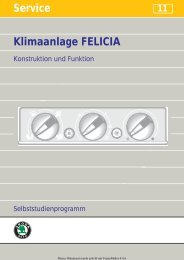 Service Service Klimaanlage FELICIA