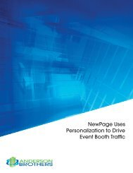 NewPage Uses Personalization to Drive Event Booth Traffic
