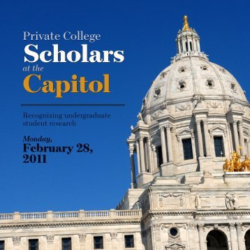 Capitol Capitol - Minnesota's Private Colleges