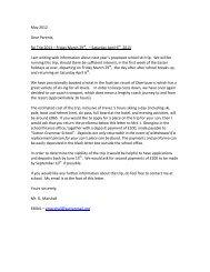 May 2012 Dear Parents, Ski Trip 2013 - Sutton Grammar School