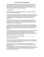 1D The Home/School Agreement - Sutton Grammar School