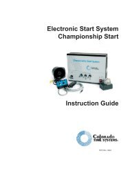 ChampStart - Colorado Time Systems