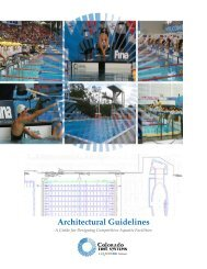 View Architectural Guidelines PDF - Colorado Time Systems
