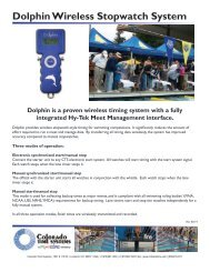 Download pdf - Colorado Time Systems