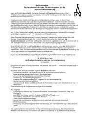 Stellenanzeige Fachstellenleiterin oder Fachstellenleiter für die ...