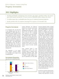 Property Investment 2011 Highlights