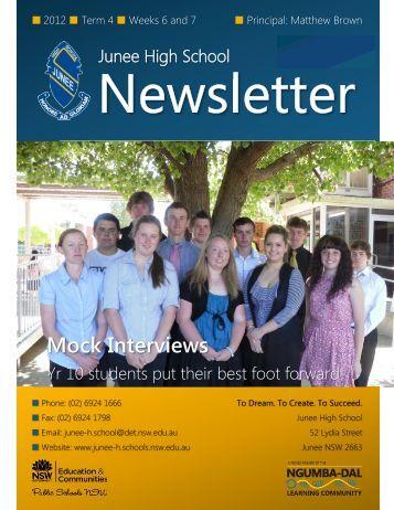13 No 18 Newsletter November 2012 Week 46 [pdf, 1 MB]