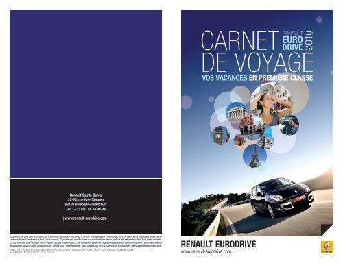 CARNET DE VOYAGE - Renault Canada