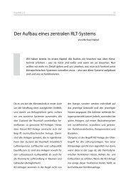 Der Aufbau eines zentralen RLT-Systems - AL-KO