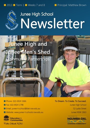 20 No 4 Newsletter Week 12 [pdf, 2 MB] - Junee High School