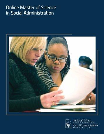 online MSSA - Mandel School of Applied Social Sciences - Case ...