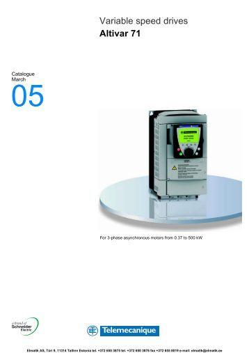 Altivar 71 Telemecanique manual