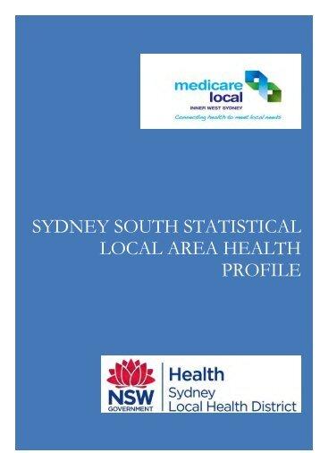 Sub-Regional Profiles - Sydney Local Health District - NSW ...