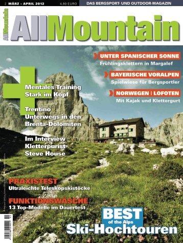 klettersteige top ten der alpen - Delius Klasing