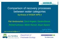 Download pdf - WISER – Water bodies in Europe