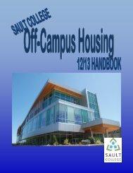 Off-Campus Handbook - Sault College
