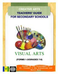 Teachers Guide for the Visual Arts Grades 7-9 - VincyClassroom
