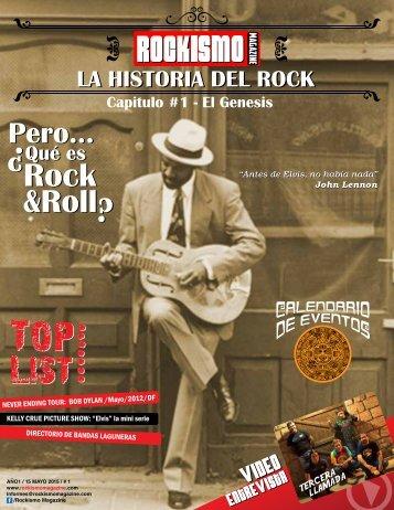 Rockismo Magazine #1
