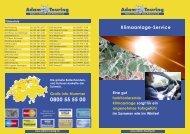 Klimaanlage-Service - Adam Touring GmbH