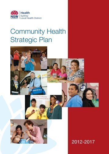 COMMUNITY HEALTH STRATEGIC PLAN 2012 - Sydney Local ...
