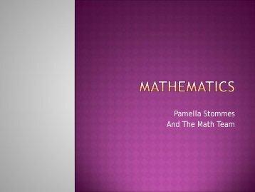 Mathematics - Yinghua Academy