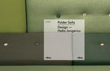 Polder Sofa Design — Hella Jongerius