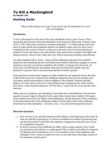 to kill a mockingbird chapter 11 pdf free