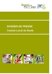 DOSSIER DE PRESSE Contrat Local de Santé - ARS Lorraine