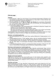 Erläuterungen - Schweizer Armee
