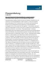 Pressemitteilung - young academy Rostock