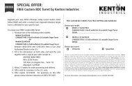Kenton Rebate Coupon - Carl Zeiss Sports Optics