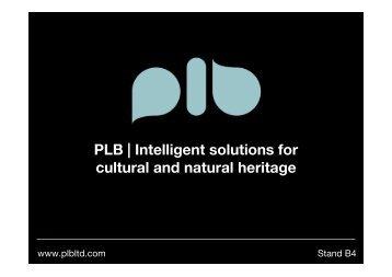 Download PDF Presentation - PLB
