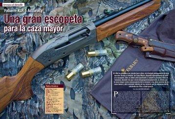 fabarm xlr5 accuracy caza mayor agosto 2012 - Ardesa