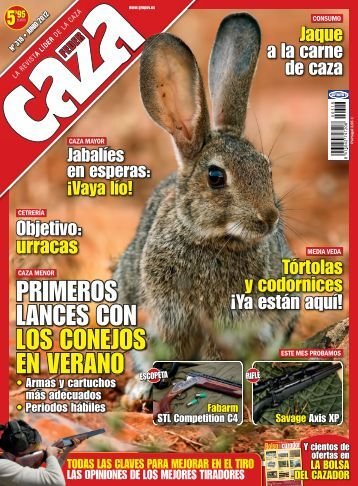 Artículo publicado en FEDERCAZA Junio 2012 sobre la ... - Ardesa