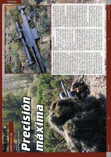 HAENEL Rifle Sniper RS8 Por Jean Pierre Bourguignon - Ardesa