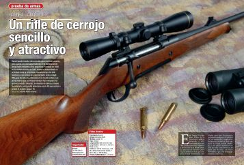 Rifle Cerrojo Haenel J10 Publicado en CAZA MAYOR ... - Ardesa