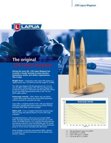 .338 Lapua Magnum The original - Ardesa