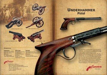 UNDERHAMMER Pistol - Ardesa
