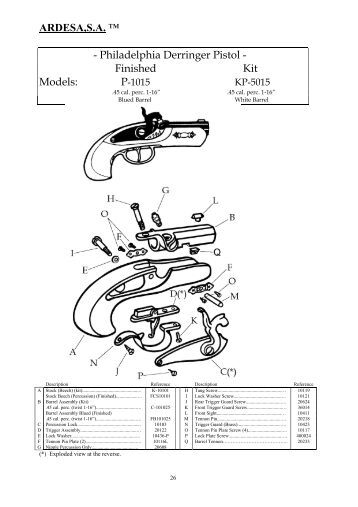 Pistol Assembly Derringer Blueprintlink Related Keywords