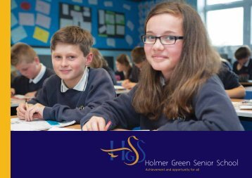 to download the current Holmer Green Prospectus
