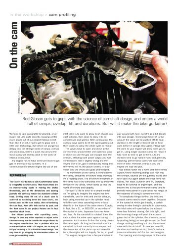 Classic Motorcycle Mechanics - November 2005 - Knucklebuster