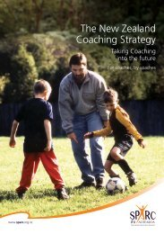The New Zealand Coaching Strategy – For coaches, By coaches