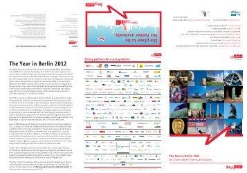 the Year in Berlin 2012 - Berlin Partner GmbH