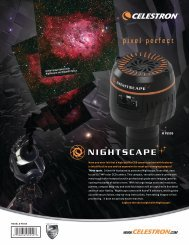 Nightscape CCD Camera Sell Sheet - Celestron