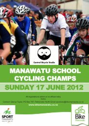 download an entry form here - Sport Manawatu