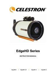 EdgeHD Optics Manual - Celestron