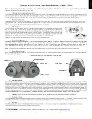 Celestron 8-24x25 Electric Power Zoom Binoculars – Model # 72121