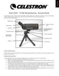 Model # 52238 C70 Mini Mak Spotting Scope Instruction ... - Celestron
