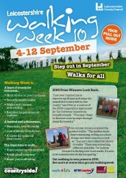 Events Guide - Inspire LeicesterShire